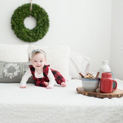 "Baby ""A"" Christmas: Amy Parsons PEI Family Photographer"
